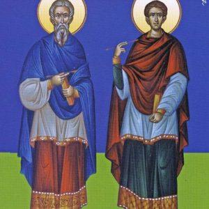 13 февраля. Бессребреники мчч. Кир и Иоанн