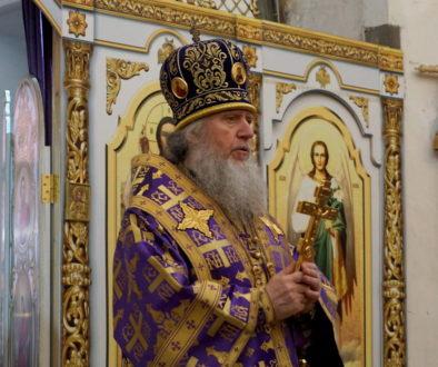 В субботу и воскресенье первой седмицы Великого поста архиепископ Витебский и Оршанский Димитрий возглавил богослужения в храме великомученицы Ирины г.Москвы