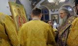 В канун Недели 2-й Великого поста архиепископ Витебский и Оршанский Димитрий совершил всенощное бдение в храме великомученицы Ирины г.Москвы