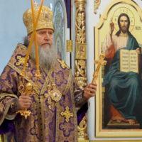 В субботу 28 марта архиепископ Витебский и Оршанский Димитрий совершил Литургию в храме великомученицы Ирины г.Москвы