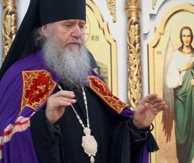 В канун Недели 4-й Великого поста архиепископ Витебский и Оршанский Димитрий совершил всенощное бдение в храме великомученицы Ирины г.Москвы