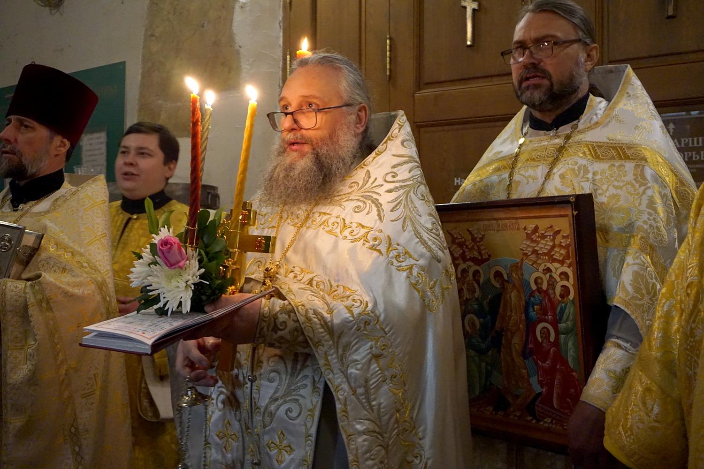 Пасха Христова в храме великомученицы Ирины