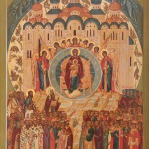 4 апреля. Похвала Пресвятой Богородицы (Суббота Акафиста)