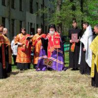 Архиепископ Витебский и Оршанский Димитрий освятил место строительства храма святой великомученицы Ирины в городе Витебске