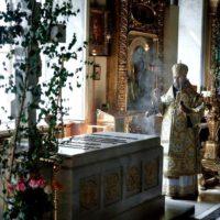 В 30-ю годовщину интронизации Святейшего Патриарха Алексия II состоялась панихида в Богоявленском кафедральном соборе