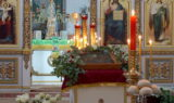 Всенощное бдение накануне Дня Святой Троицы в храме великомученицы Ирины г.Москвы