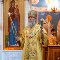 В Неделю 4-ю по Пятидесятнице архиепископ Витебский и Оршанский Димитрий совершил Литургию в храме Воскресения Христова города Витебска
