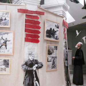 В Свято-Елисаветинском монастыре Минска открылась выставка к 75-летию Победы в Великой Отечественной войне