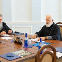 Архиепископ Витебский и Оршанский Димитрий принял участие в совещании ректоров и проректоров духовных учебных заведений Белорусской Православной Церкви.