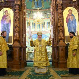 Архиепископ Витебский и Оршанский Димитрий принял участие в Божественной литургии в Александро-Невском кафедральном соборе Нижнего Новгорода