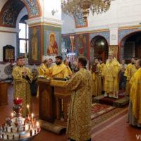 В праздник Рождества Иоанна Крестителя архиепископ Витебский и Оршанский Димитрий совершил Литургию в Свято-Покровском соборе города Витебска