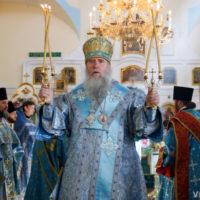В праздник Казанской иконы Божией Матери архиепископ Витебский и Оршанский  Димитрий совершил Литургию в Свято-Троицком Марковом мужском монастыре города Витебска
