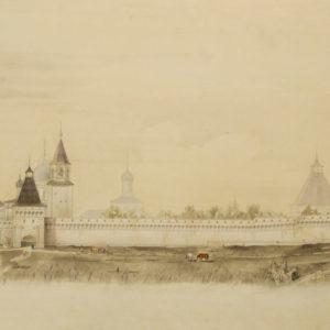 В Музее архитектуры открывается постоянная выставка фресок затопленного калязинского монастыря