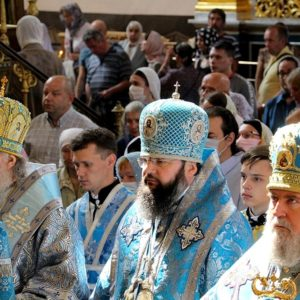 Архиепископ Витебский и Оршанский Димитрий принял участие в торжествах в честь Смоленской иконы Божией Матери «Одигитрия»