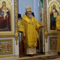 22 августа 2020 года, в канун Недели11-й по Пятидесятнице, архиепископ Витебский и Оршанский Димитрий совершил всенощное бдение в храме великомученицы Ирины г.Москвы