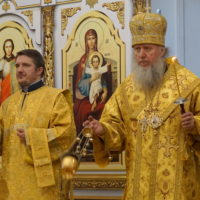 В канун Недели10-й по Пятидесятнице архиепископ Витебский и Оршанский Димитрий совершил всенощное бдение в храме великомученицы Ирины г.Москвы
