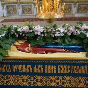 Праздник Успения Божией Матери в храме великомученицы Ирины