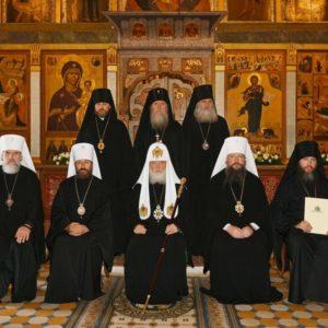 Архиепископ Витебский и Оршанский Димитрий сослужил Святейшему Патриарху Кириллу в Саввино-Сторожевском монастыре