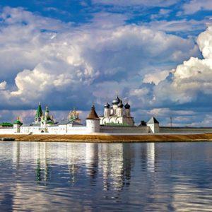 В Москве откроется экспозиция «Калязин. Фрески затопленного монастыря»