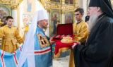 Архиепископ Витебский и Оршанский Димитрий сослужил Патриаршему Экзарху в Свято-Духовом кафедральном соборе города Минска