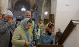 Всенощное бдение в канун праздника Рождества Пресвятой Богородицы в храме великомученицы Ирины
