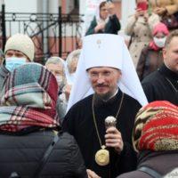 Патриарший Экзарх возглавил престольный праздник Покровского кафедрального собора города Гродно