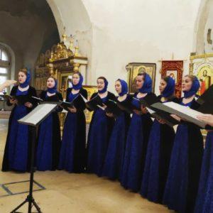 В храме великомученицы Ирины г.Москвы прошел IX Хоровой фестиваль «Осеннее многоголосье»