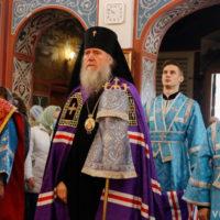 Архиепископ Витебский и Оршанский Димитрий возглавил богослужения в престольный праздник Свято-Покровского собора города Витебска