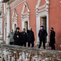 Министры образования России и Белоруссии посетили Высоко-Петровский монастырь