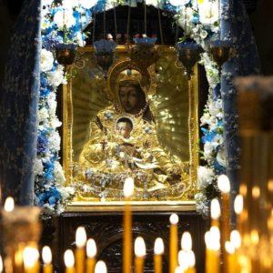 25 ноября — память иконы Божией Матери Милостивая (Киккская)