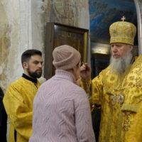 Архиепископ Витебский и Оршанский Димитрий совершил всенощное бдение в храме великомученицы Ирины города Москвы