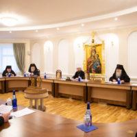 Митрополит Вениамин возглавил совещание архиереев Белорусской Православной Церкви