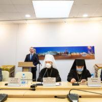 Патриарший Экзарх возглавил открытие Шестых Белорусских Рождественских чтений