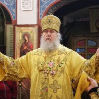 В Неделю 27-ю по Пятидесятнице архиепископ Витебский и Оршанский Димитрий совершил Литургию в Свято-Покровском соборе города Витебска