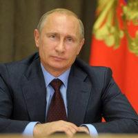Поздравление Президента РФ В.В. Путина Святейшему Патриарху Кириллу с Новым годом и Рождеством Христовым