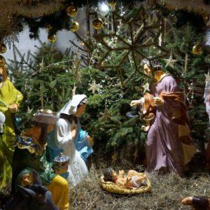 Рождественские богослужения в храме великомученицы Ирины