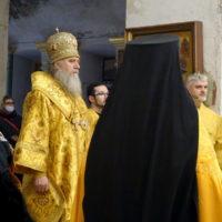 В Неделю 34-ю по Пятидесятнице архиепископ Витебский и Оршанский Димитрий возглавил богослужения в храме великомученицы Ирины города Москвы
