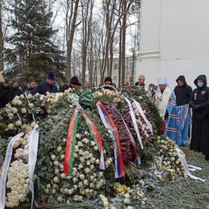 В 9-й день после кончины митрополита Филарета совершено его поминовение в Жировичах
