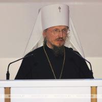 «Единением и любовью спасемся». Митрополит Вениамин выступил на VI Всебелорусском народном собрании в Минске