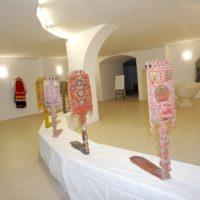 В храме великомученицы Ирины открылась выставка «ЗАВЕТНЫЕ МАТЕРИИ КАДАШЕЙ»