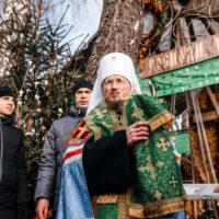 Патриарший Экзарх совершил молебен на месте упокоения блаженной Валентины Минской
