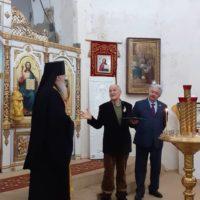 Награждение в храме великомученицы Ирины