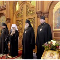 Архиепископ Витебский и Оршанский Димитрий по приглашению митрополита Санкт-Петербургского и Ладожского Варсонофия посетил Санкт-Петербург