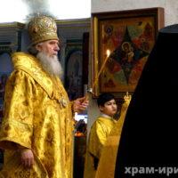В канун Недели о Страшном Суде архиепископ Витебский и Оршанский Димитрий совершил всенощное бдение в храме великомученицы Ирины города Москвы
