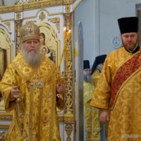 В Неделю о Страшном Суде архиепископ Димитрий совершил Литургию в храме великомученицы Ирины города Москвы