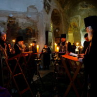 Великий покаянный канон преподобного Андрея Критского в храме великомученицы Ирины г.Москвы