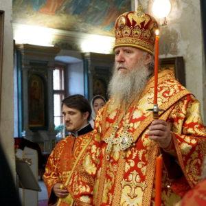 В Неделю 3-ю по Пасхе архиепископ Витебский и Оршанский Димитрий возглавил богослужения в храме великомученицы Ирины города Москвы