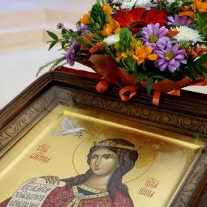 В канун празднования памяти великомученицы Ирины архиепископ Витебский и Оршанский Димитрий совершил всенощное бдение в одноименном храме города Москвы