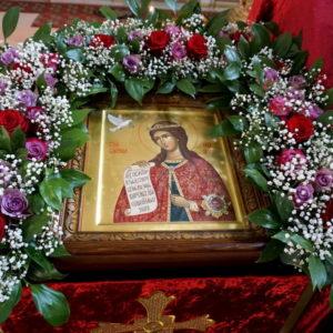 В день празднования памяти великомученицы Ирины архиепископ Витебский и Оршанский Димитрий совершил Божественную Литургию в одноименном храме города Москвы