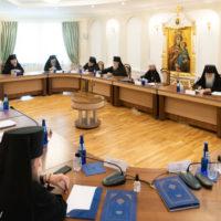 Архиепископ Витебский и Оршанский Димитрий принял участие в заседании Синода Белорусской Православной Церкви